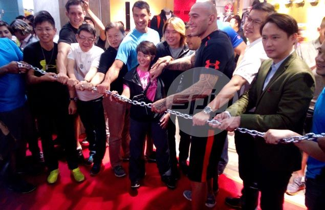 Under Armour opens second retail store in the country