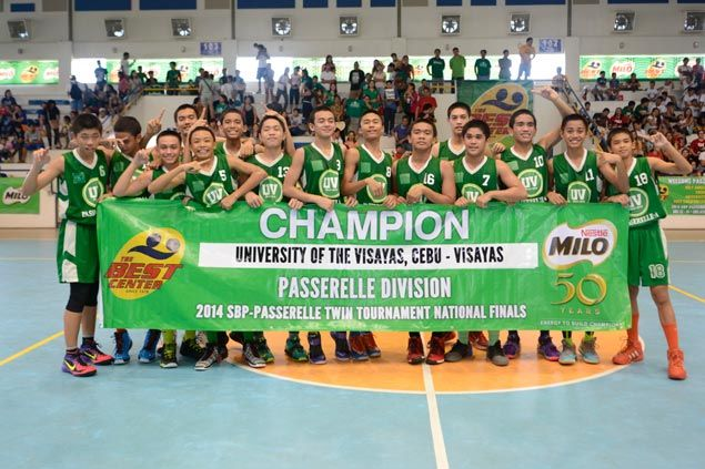 University of the Visayas beats Holy Child College of Davao to win national Passerelle title