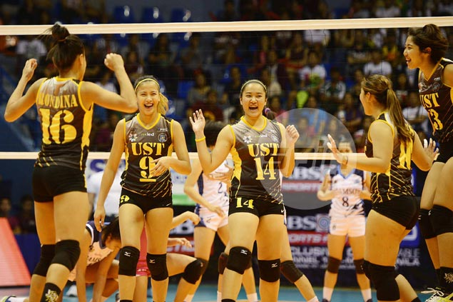 UST Tigresses survive five-set scare from skidding Adamson Lady Falcons