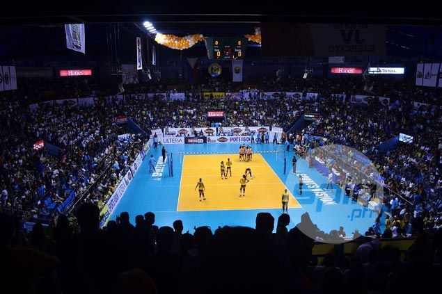 Sellout crowd at The Arena sees young Ultra Fast Hitters overcome veteran Lady Troopers in V-League final