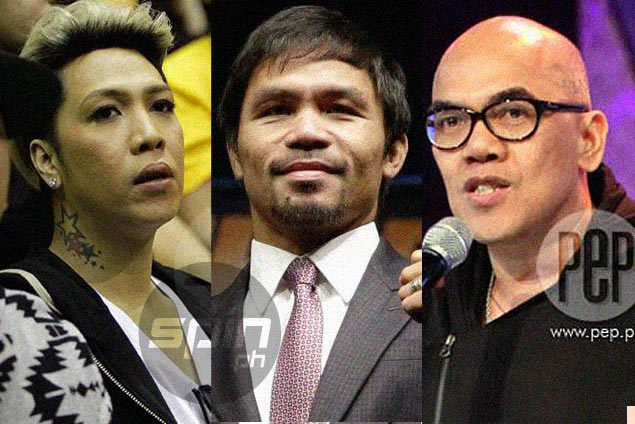 Pacquiao eyes talk with Boy Abunda, Vice Ganda before leaving for US training