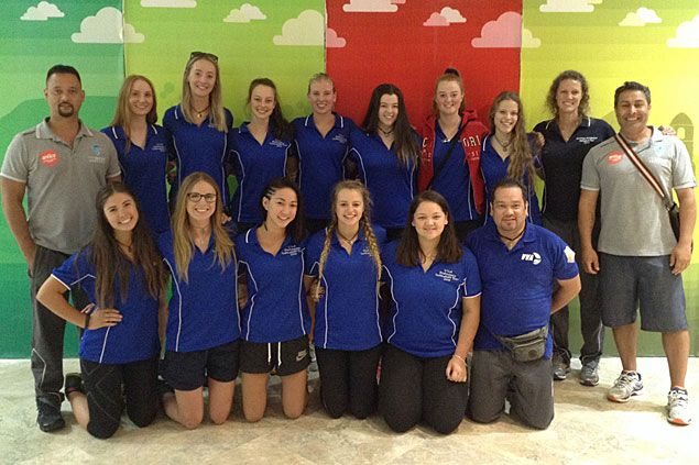 Australian squad tests mettle of National University as League of Champions volley tilt begins