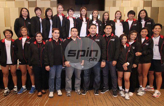 PH volleyball teams to 2015 SEA Games named as Alyssa Valdez, Dindin Santiago, Rachel Ann Daquis spearhead women's side