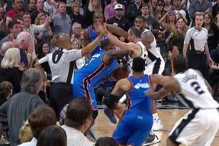 Referee admits Waiters should've been called for foul against Ginobili late in Game 2