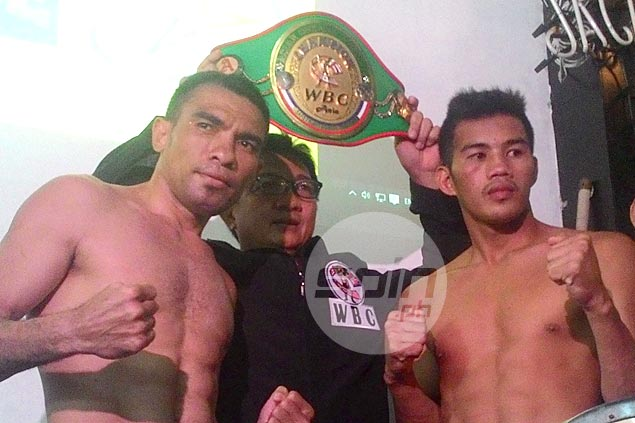 Former youth champ Jeffrey Arienza battles Indonesia's Wellem Reyk for ABCO super lightweight title