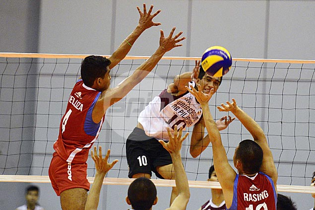 UP recovers from a set down to beat EAC in Spikers Turf Collegiate Conference opener