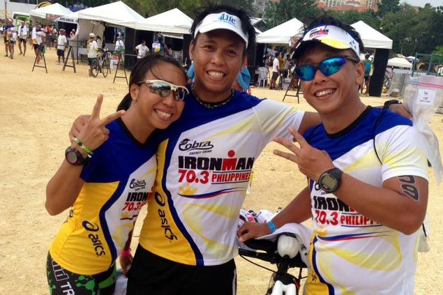 Triathlon siblings say there's nothing like doing something you love with people you love