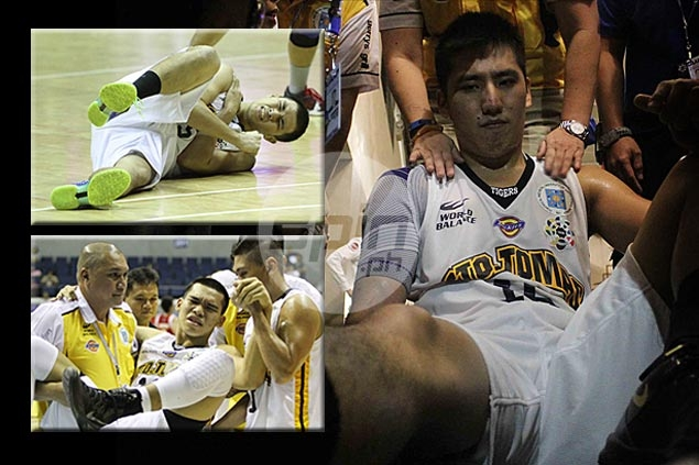 Teng not the only wounded Tiger as UST injury woes pile up