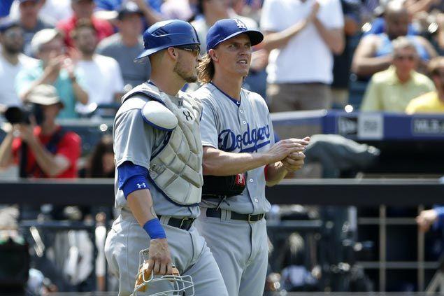 Mets beat Dodgers and snap Zack Greinke's shutout streak