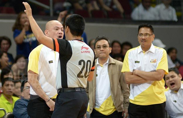 Guiao will have no problem with stringent officiating, so long as calls are consistent