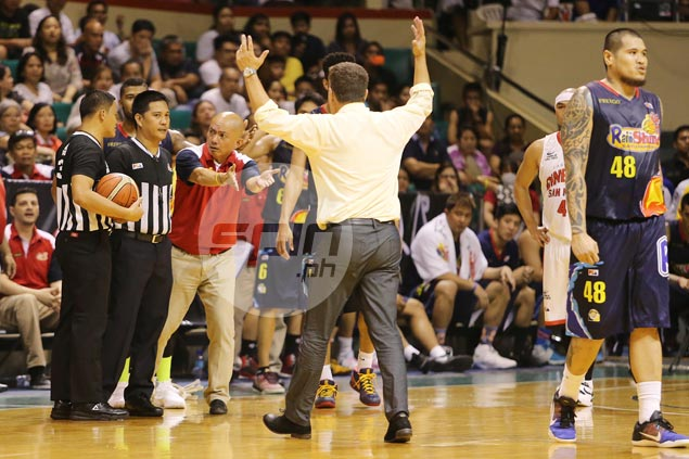 Guiao says Cone should've been ejected: 'Bakit pag ako, ang bilis ... Pag sila, bigay ng bigay'