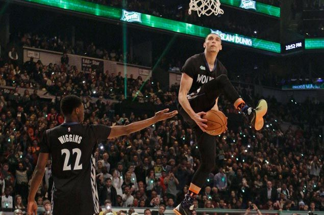 Zach LaVine not defending slam-dunk title: 'I've accomplished everything I could in the contest'
