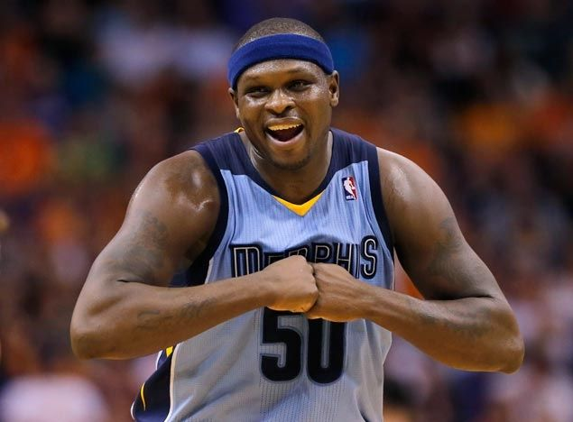 Zach Randolph posts 12th straight double-double as Grizzlies down Thunder for sixth straight win