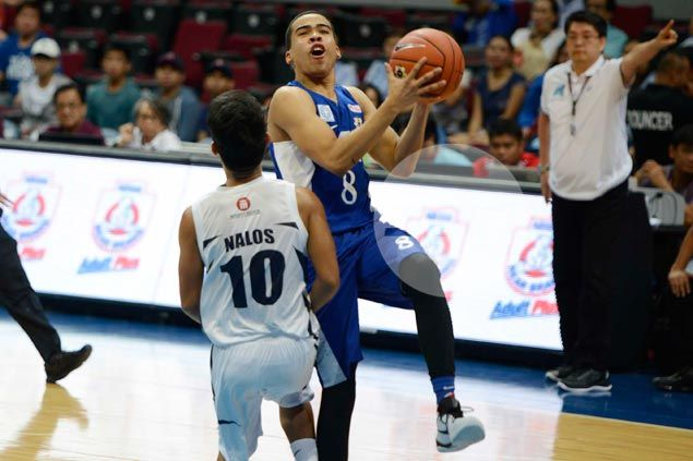 Fiery Ateneo debut just the first step as Aaron Black tries to live up to proud name