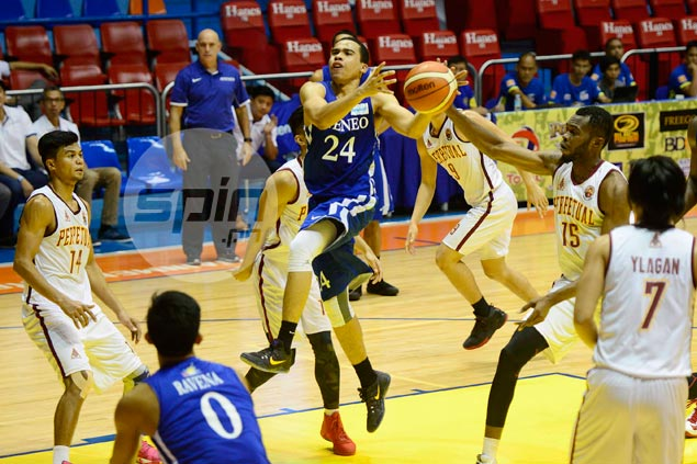 Ateneo Blue Eagles buck loss of seven players, beat Perpetual to reach Filoil Cup semis