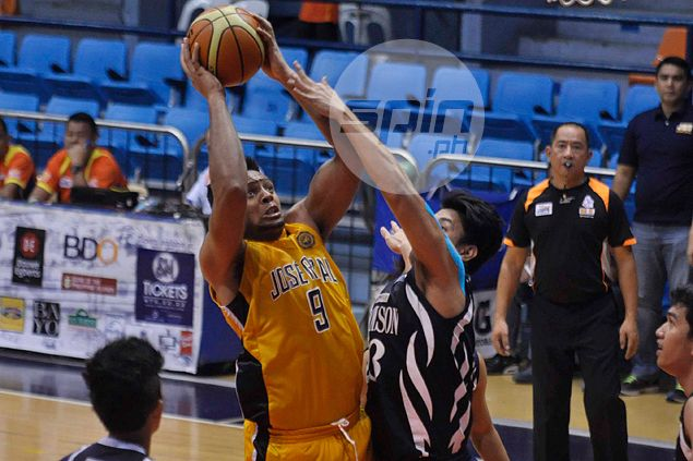 Heavy Bombers too much for short-handed Falcons in Filoil Cup