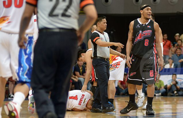 Calvin Abueva summoned to appear before Salud for 'punch' but suspension unlikely