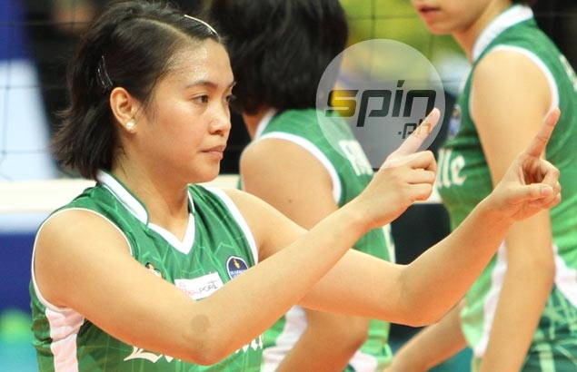 Former La Salle leader Aby Marano proud of what her 'babies' have so far achieved
