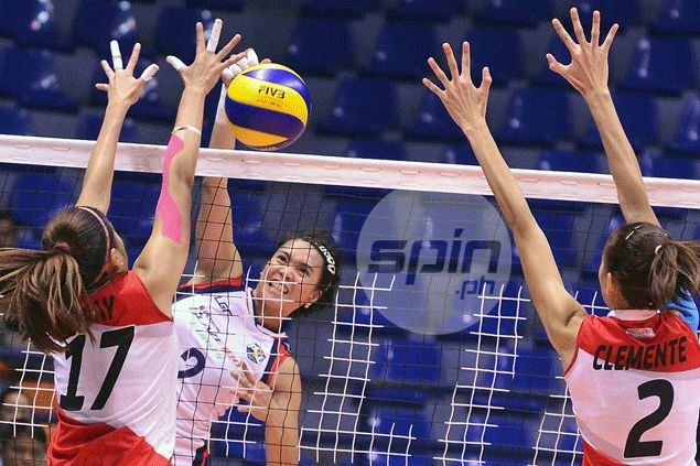 Streaking Blaze Spikers secure first semis berth after making short work of Cignal