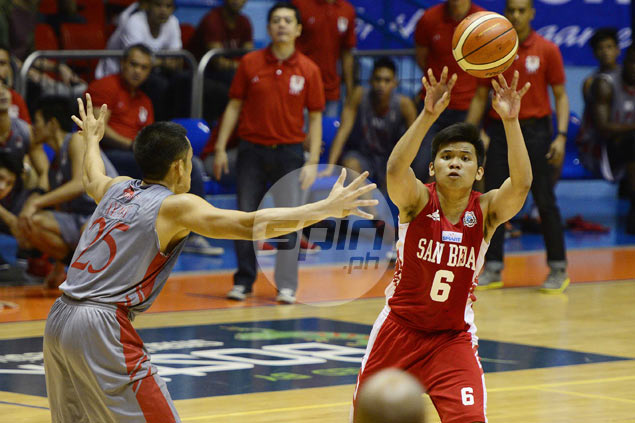 AC Soberano hits six three-pointers in emphatic San Beda win over Lyceum