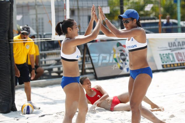 UST beach volley pair gets repeat bid back on track, clips Lady Eagles wings