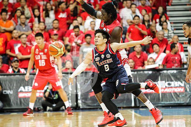 San Beda Red Lions outduel Knights to force winner-take-all Game 3 in NCAA Finals