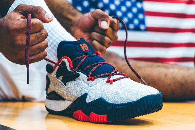 One reason why it would've been great to see James Harden in Team USA: his new adidas shoes