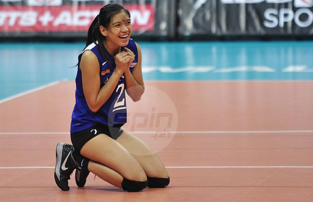 Lady Eagles over Lady Spikers