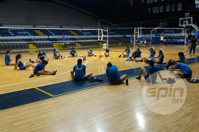 No let-up in training as Ateneo prepares for Finals grudge match versus La Salle