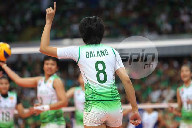 Ara Galang gets green light for Game 3, suffers no more than knee contusion