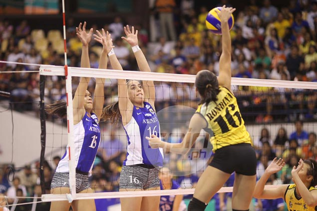 Amy Ahomiro shines upon return to natural position as Ateneo Lady Eagles middle blocker