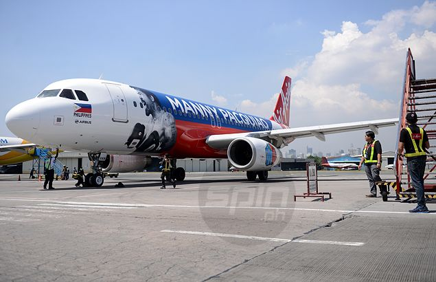 Pacquiao pride soars to new heights as AirAsia unveils planes bearing champ's image