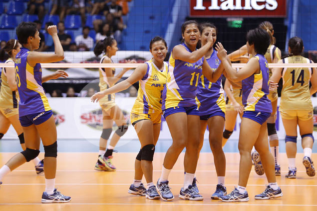 Air Force stuns NU in five sets to secure playoff spot in V-League