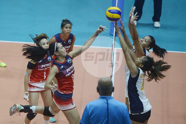 Petron beats Navy in straight sets to finish Super Liga elims on bright note