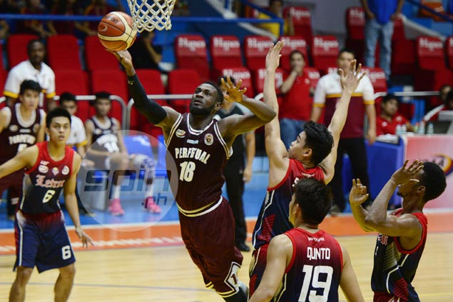 Akhuetie in doubt for Final Four after being suspended by Perpetual for 'unacceptable act'