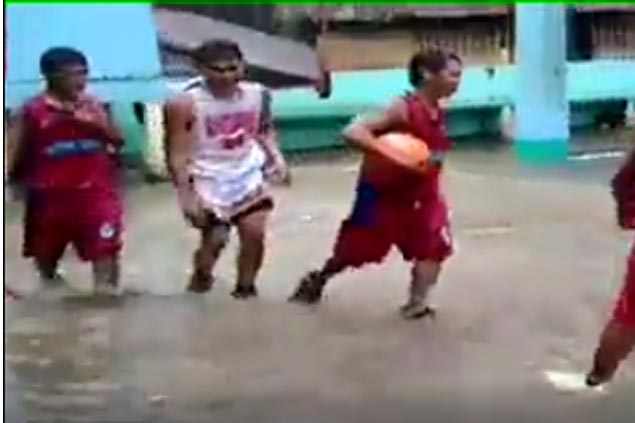 These Aklan ballers just gave new meaning to 'diving for the ball.' WATCH