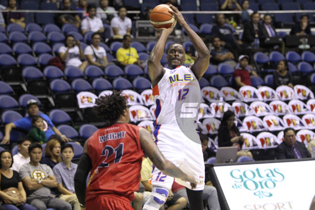 Coach Boyet Fernandez plays down poor offensive showing from import Al Thornton