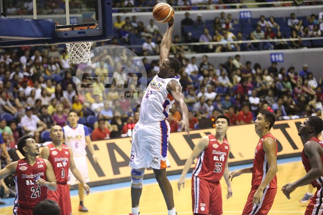 Asi Taulava in vintage form as NLEX rips Blackwater in Easter Sunday renaissance