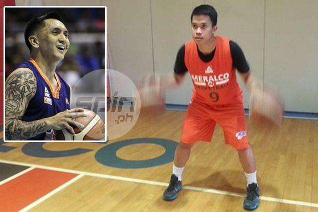 Baser Amer thrilled no end as he lines up alongside childhood idol Jimmy Alapag