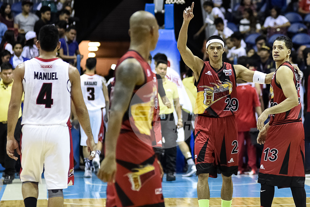 Arwind Santos says Beermen now have the belief that they can go all the way