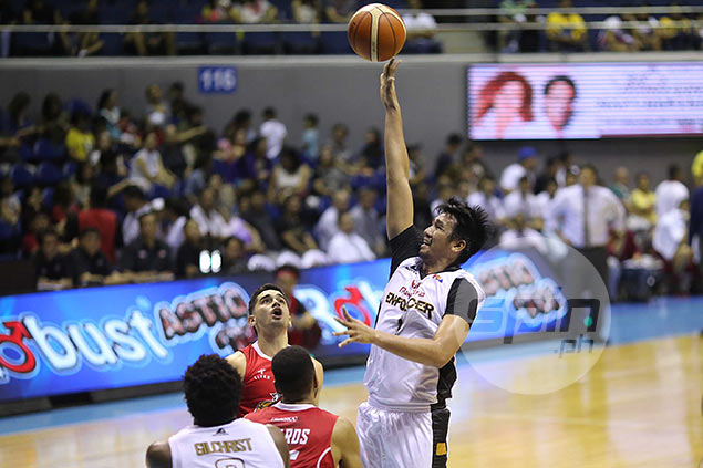 Red-hot Aldrech Ramos shoots his way to first ever PBA Player of the Week award