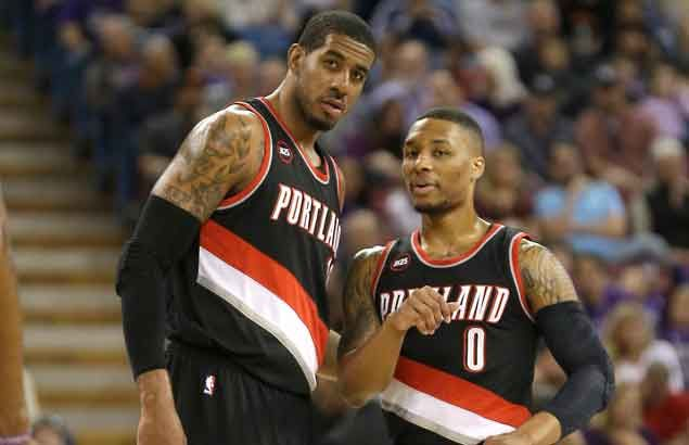After signing huge contract, Damian Lillard will try to convince LaMarcus Aldridge to stay in Portland