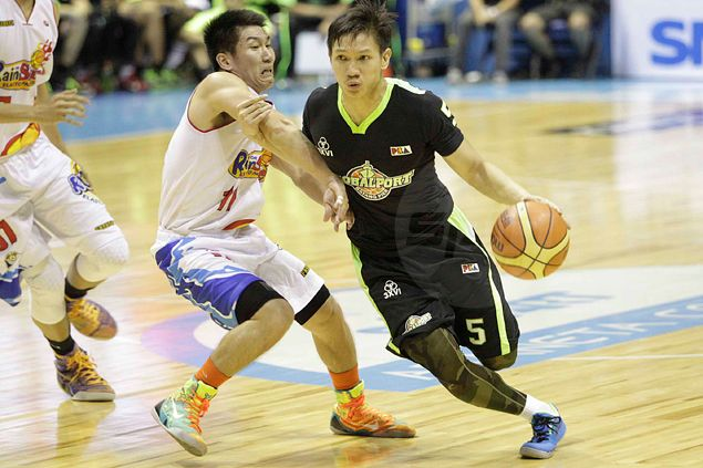 GlobalPort 'not even close' to where we want to be, says guard Alex Cabagnot