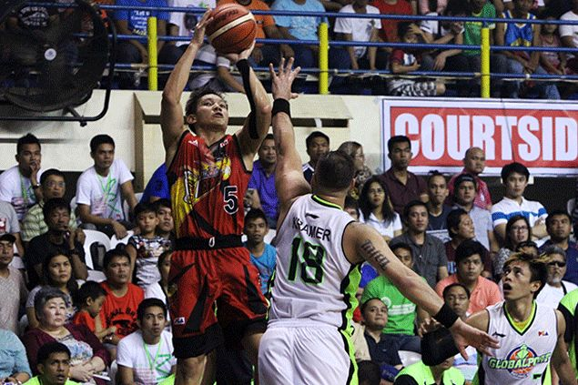 San Miguel kicks off grand slam quest in style behind rout of GlobalPort in Davao