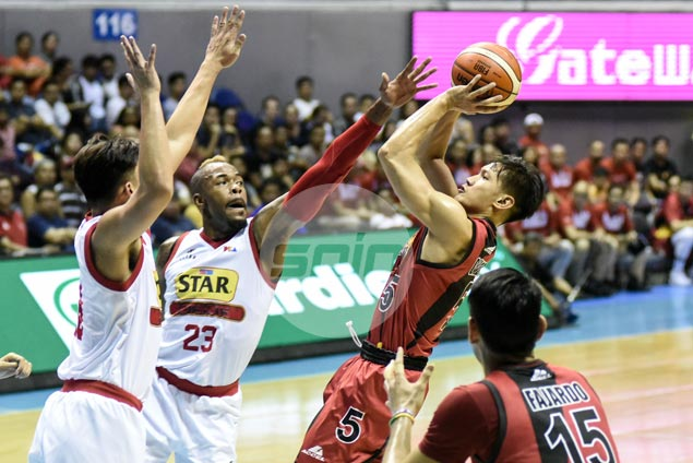 Shorthanded San Miguel underscores depth once again by dealing Star a beating