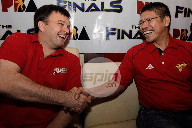 SMB coach Leo Austria and former assistant Compton stand on verge of maiden PBA title