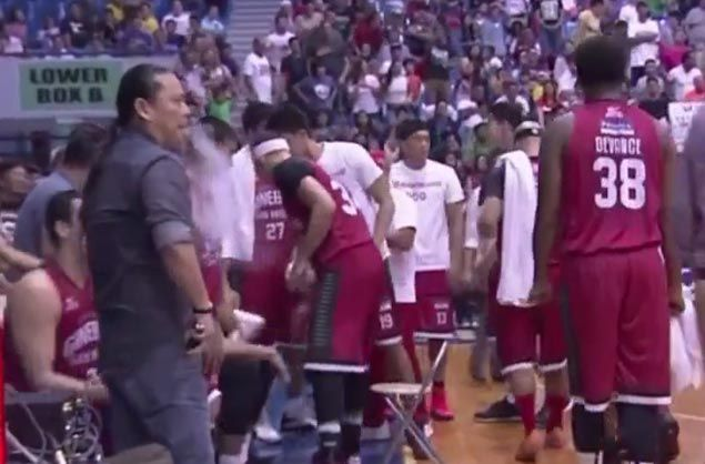 DOH urges PBA action after Ginebra governor Alfrancis Chua seen on TV smoking e-cigarette on bench