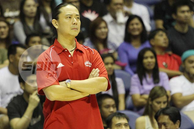 Alfrancis Chua preaches patience, says learning triangle offense a long, painstaking process