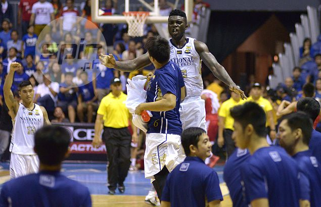 NU's Alfred Aroga establishes position as top dog, earns UAAP Player of the Week Honors