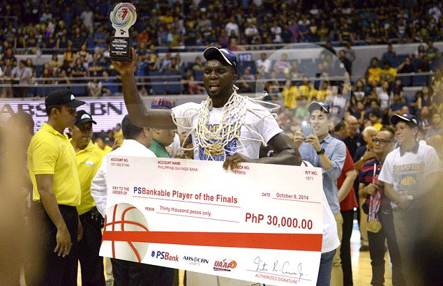 Finals MVP Alfred Aroga says Bulldogs got job done by 'working together, staying humble'